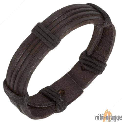 niki-orange-Lederarmband-Kaner-Armband-Leder-Herren
